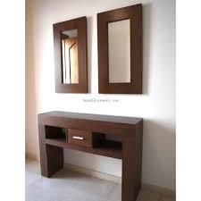 consolas muebles mueble consola fabricado a medida con espejo a juego