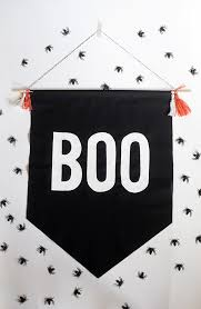 alice and loisdiy no sew halloween boo banner alice and lois