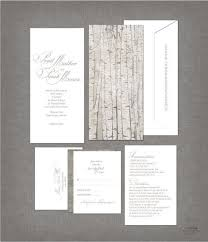 Tree Wedding Invitations Birch Tree Wedding Invitations Rustic Wedding Chic