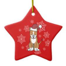pitbull ornaments keepsake ornaments zazzle