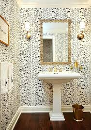 bathroom wallpaper designs black and white bathroom wallpaper postpardon co
