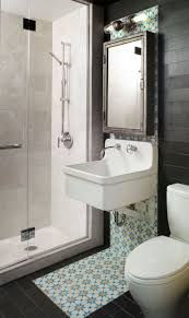 peaceful tiny bathroom idea with mosaic wall tiles also floating elegant tiny bathroom idea with small shower room and medicine cabinet