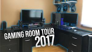 my gaming room tour 2017 youtube