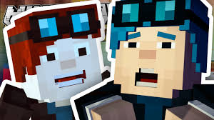 minecraft story mode i u0027m in the game episode 6 1 youtube