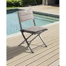 chaise hesperide hesperide garden furniture parasol anzio bleu orage m