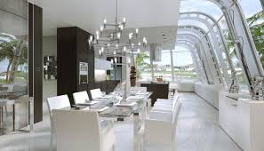 White Dining Room Buffet Elegant All White Modern Calvin Buffet With Storage Space