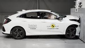 si e auto crash test 2017 honda civic hatchback crash test