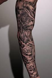 18 amazing leo sleeve tattoos