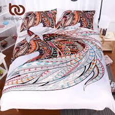 beddingoutlet 3 pcs 3d bedding set horse queen boho comforter