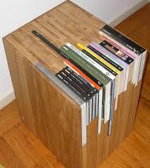 Nightstand Bookshelf A Custom Side Table With A Custom Bookshelf
