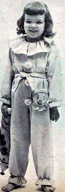 1950 sweet childrens pajamas pattern mccall 1548 clown or