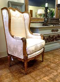 Wing Chairs For Living Room by Furniture Glamorous Antique Wingback Chair Design Inspiration