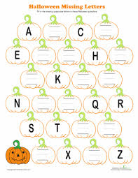 awesome collection of halloween kindergarten worksheets for cover