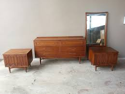 Mid Century Modern Bedroom by Mid Century Modern Bed Furniture Set All Modern Home Designs