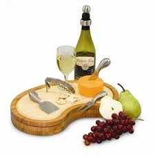 wine bottle cheese plates picnic time legacy mariposa cheese tray reviews wayfair