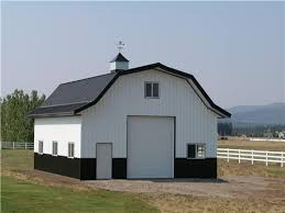 Gambrel Style House Gambrel Roof Style Steel Buildings Steel Storage Building With