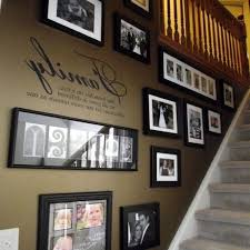 staircase wall decoration ideas entry traditional with console
