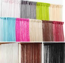 Living Room Curtains On Ebay String Curtains Ebay
