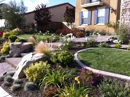 Courtyard Garden Ideas Beautiful And Colorful Garden Landscape San Diego Beautiful