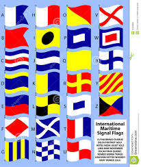nautical flag international maritime signal flags eps stock vector image 12498853