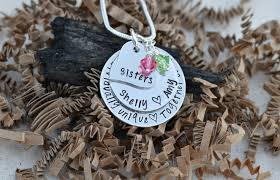 Unique Gifts by Unique Sister Gifts Sister Necklace Sister Gifts For