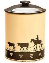 western kitchen canisters western kitchen canister set from collections etc for my