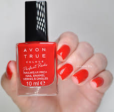 avon true colour perfect reds swatches u0026 review lacquered bits
