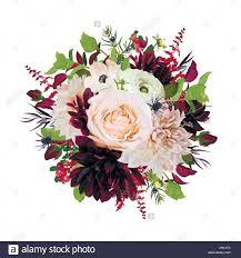 burgundy flowers flower wreath bouquet of pink burgundy flowers dahlia