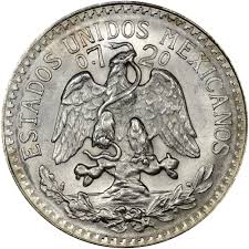 mexico estados unidos mexicanos 50 centavos km 447 prices u0026 values n