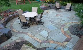 Stone Patio Design Flagstone Patio Gallery Craft Central Slate Patio Tiles For