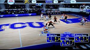 ncaa basketball 07 ps2 game 1 tcu vs wichita st youtube