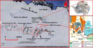 geological studies in the baalsrudfjellet nunatak between the