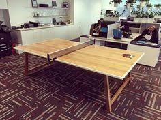 Table Tennis Boardroom Table Bent Lamination With Tasmanian Blackwood This Is 1 Of 4 Legs That
