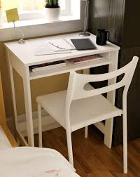 Small Study Desks Ikazs Wood Computer Moving Desk Whitesimple White