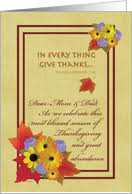 thanksgiving cards for parents from greeting card universe