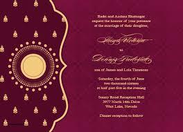 Modern Indian Wedding Invitations Sample Indian Wedding Invitation Paperinvite