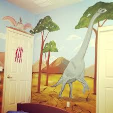 wall ideas dinosaur wall art boys bedroom or nursery thumbnail 1