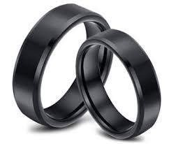 black wedding rings his and hers his and hers wedding rings sets 30 sale free shipping