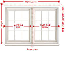 Measuring Window Blinds How To Measure Blinds U0026 Shades