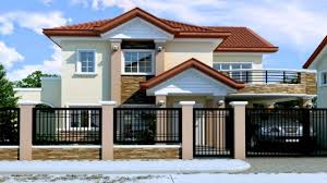 two storey house plans two storey house design with floor plan in the philippines