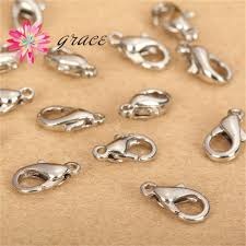 metal bracelet clasps images Metal small zinc alloy lobster clasp parrot claw clasps fasteners jpg