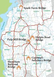 bridges of county map the covered bridges of county by bicycle