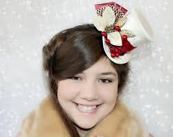 christmas mini hat mini hat fascinator christmas wedding mini