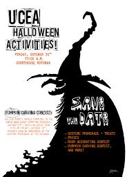 halloween save the date ucea