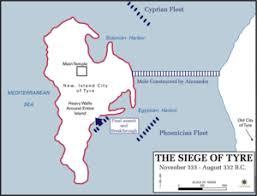 siege bce siege of tyre 332 bc