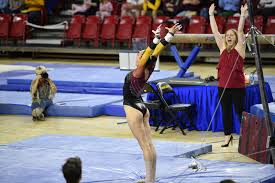 Desert Lights Gymnastics Gym Devils Travel South To Face Rival Arizona In T Cup Match Up