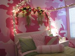 pink camo bedroom family project we did for my niece if only she