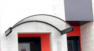 pensilina tettoia in policarbonato plexiglass pensiline in vetro e acciaio capottine in alluminio e