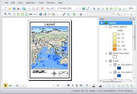 layout view zoom layout and printing map about layout view