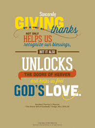 lds thanksgiving blessings festival collections